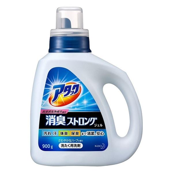 日本【花王】ATTACK消臭強效洗衣精900g