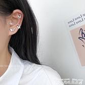 耳環蝴蝶純銀耳釘年新款潮耳環套裝組合網紅耳骨釘女簡約小巧耳飾  迷你屋 新品