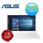 ASUS 華碩L402NA-0032AN3450 14吋筆電 白