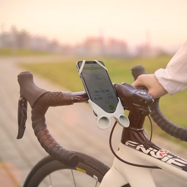 【Bone】單車手機揚聲器Bike Tie Speaker-灰色