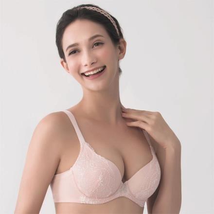 【南紡購物中心】金華歌爾 寵愛芍藥花 A-C 罩杯內衣(粉)寬肩帶減壓