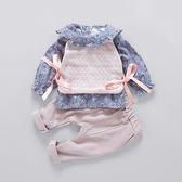 童裝 女寶寶春季套裝 嬰兒 夏天衣服