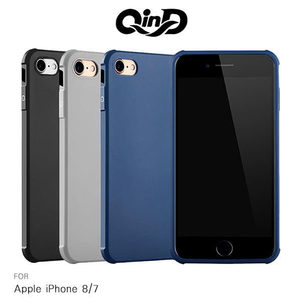 【愛瘋潮】QinD Apple iPhone 8 / iPhone 7 Plus (5.5吋) 刀鋒保護套 半覆式 防摔氣囊 保護殼