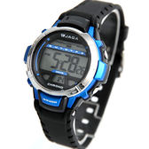 JAGA 捷卡 小圓框多功能電子腕錶 柒彩年代【NEJ2】原廠公司貨