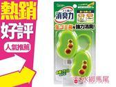 日本 雞仔牌.愛詩庭 垃圾桶除異味防蠅消臭力-橙香薄荷香 芳香消臭 除臭配方 綠色◐香水綁馬尾◐