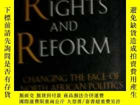 二手書博民逛書店HUMAN罕見RIGHTS AND REFORM(CHANGIN