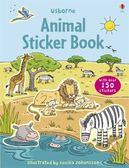First Sticker Book:Animals 主題式貼紙-野生動物