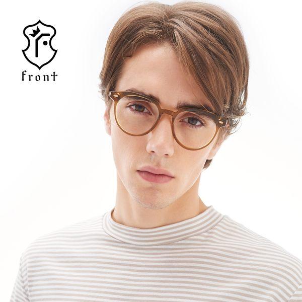 【Front 光學眼鏡】G2801-三色可挑選#簡約百搭光學眼鏡