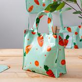 【出清$39元起】胡蘿蔔樂園手提購物袋-生活工場