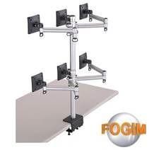 [NOVA成功3C]FOGIM TKLA-6036-S 夾桌懸臂式液晶螢幕支架(六螢幕)(和順電通) 喔!看呢來