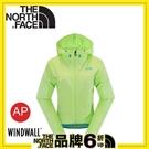 【The North Face 美國 女 抗UV風衣外套《芽綠》】CZQ8/機車風衣/防風外套/防寒