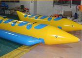 水上充氣香蕉船玩具移動水上樂園設備水上步行球滾筒兒童玩具  gio