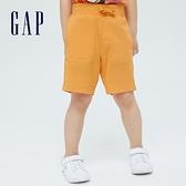 Gap男幼童 活力純棉運動短褲 701454-橙色