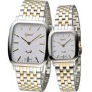 Ogival 愛其華 蟬翼系列超薄時尚對錶 393MSK 393LSK 雙色