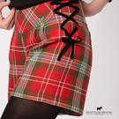 經典格紋綁帶短褲 Scottish House【AD2213】