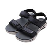 SKECHERS ON THE GO WALK5 健走涼鞋 藍 229003NVBK 男鞋