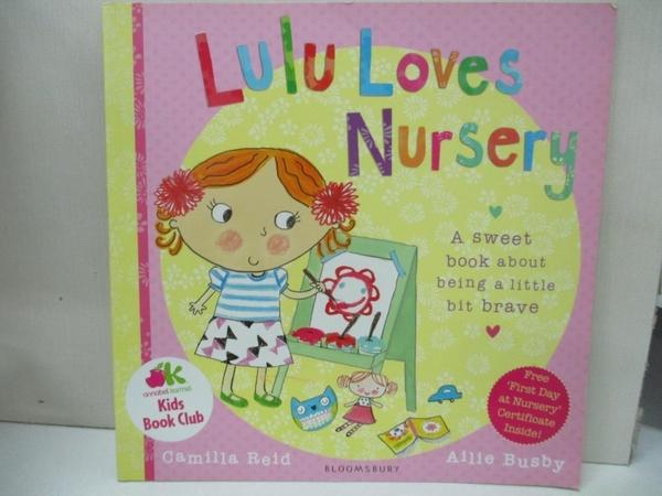 【書寶二手書T1/少年童書_EBU】Lulu Loves Nursery-A Sweet Book About..._Reid