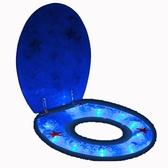 馬桶蓋 樹脂馬桶蓋普通坐便蓋板不銹鋼緩降快拆鉸鏈OUV通用LED燈開關