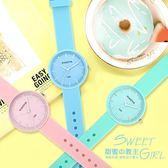 手錶-手錶女時尚潮流韓版簡約休閒可愛中學生兒童考試手錶小清新石英表 依夏嚴選