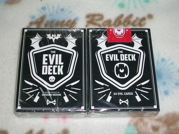 Evil deck 惡魔撲克