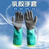 防割手套 加長加厚水產專用手套抓螃蟹小龍蝦防刺防水防油防滑酸堿防割捕魚  博世
