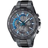 【人文行旅】EDIFICE   EFV-550GY-8AVUDF 冷艷科技灰賽車腕錶
