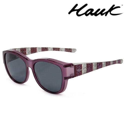 HAWK偏光太陽套鏡(眼鏡族專用)HK1021-25