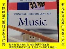 二手書博民逛書店The罕見Concise Oxford Dictionary of Music FIFTH EDITION MIC