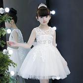 女童洋裝 女童洋裝公主裙童裝小女孩韓版兒童 珍妮寶貝