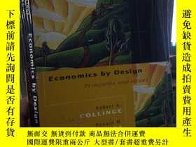 二手書博民逛書店Economics罕見by Design Principles