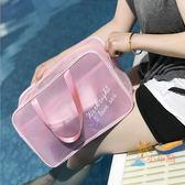 一件82折-乾濕包游泳包沙灘包干濕分離包男女防水包大容量溫泉包游泳裝備收納包