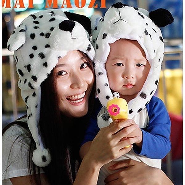 101忠狗/大麥町 兒童大人成人造型帽 萬聖節聖誕節  角色扮演服裝