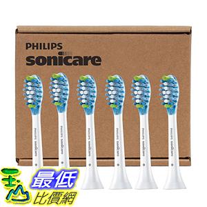 [美國直購] Philips 電動 牙刷頭 Sonicare AdaptiveClean Brush Heads 6-Pack 適用DiamondClean/FlexCare _A1054888