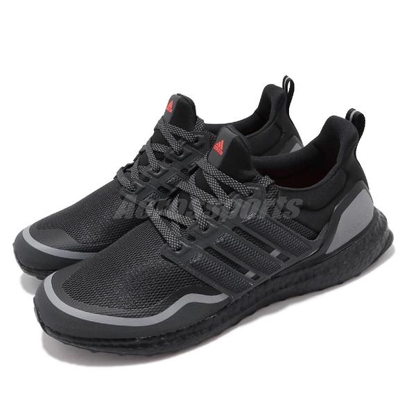 adidas 慢跑鞋 UltraBOOST Reflective 黑 灰 男鞋 反光設計 運動鞋 【PUMP306】 EG8105