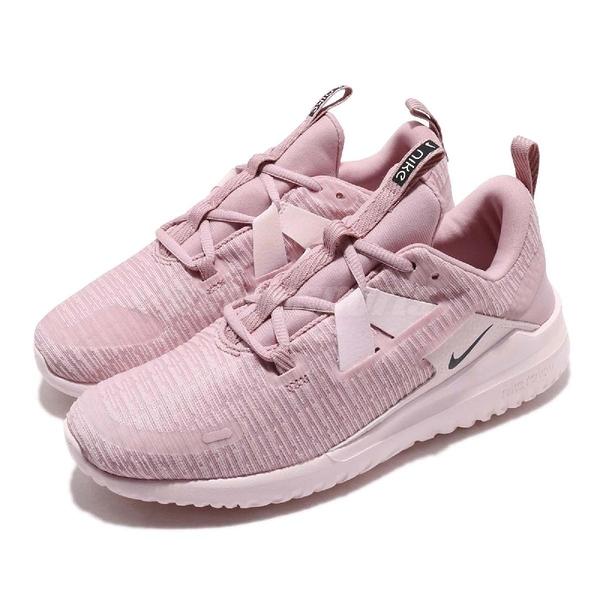 Nike 慢跑鞋 Wmns Renew Arena 粉紅 黑 舒適緩震 女鞋 運動鞋 粉粉DER【ACS】 AJ5909-500