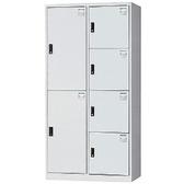 【時尚屋】DJ多用途鋼製辦公置物櫃(19-1)綠色