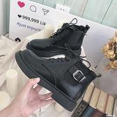 馬丁靴女春季2019新款百搭韓版學生夏季短靴潮平底女式單鞋子短筒    米希美衣