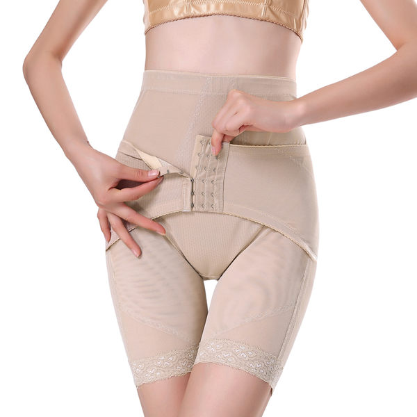 夏季超薄產後收腹束身褲 高腰束腹提臀緊身美體內褲-ynst005