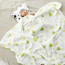 空調毯 120X150竹纖維蓋毯夏季薄款寶寶單層紗布蓋巾兒童幼兒園空調被子 韓菲兒