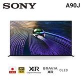 【佳麗寶】留言加碼折扣(SONY)65型 4K OLED Google TV 顯示器 XRM-65A90J