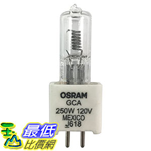 [107美國直購] 1pcsXGCA Osram Lamp 120v 250w Bulb 54428 G5.3 _E37