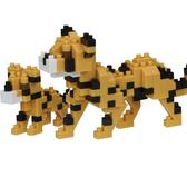 《 Nano Block 迷你積木 》NBC_307獵豹 / JOYBUS玩具百貨
