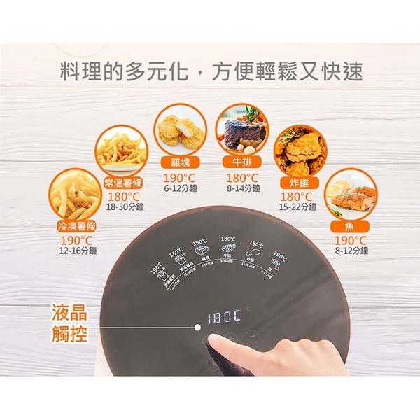 伊德爾ENLight 3.5L液晶觸控健康氣炸鍋 EH1804 電烤爐【NS109】《約翰家庭百貨
