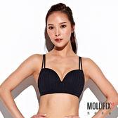 Mollifix 瑪莉菲絲 A++ Y字細肩帶美胸BRA (黑)