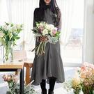 日式棉麻魚尾圍裙 MISU5729...