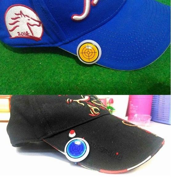 GOLF高爾夫果嶺水平儀球標MARK+磁性帽夾【AE10502】i-Style居家生活