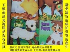 二手書博民逛書店baby罕見calf、farm puppy、fluffy chi