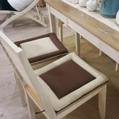 回形雙面椅墊坐墊 時尚餐椅墊 歐式布藝椅墊