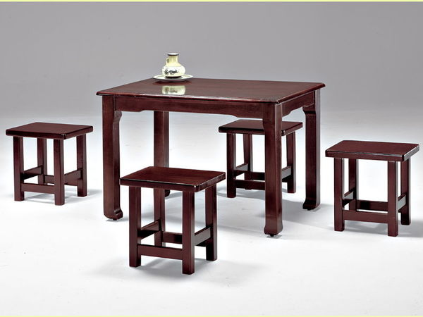 餐桌 FB-353-4 喬治亞休閒桌 (不含椅子) 【大眾家居舘】