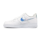 Nike Air Force 1 07 LV8 男 白 炫彩勾勾 皮革 休閒鞋 CV1699-100